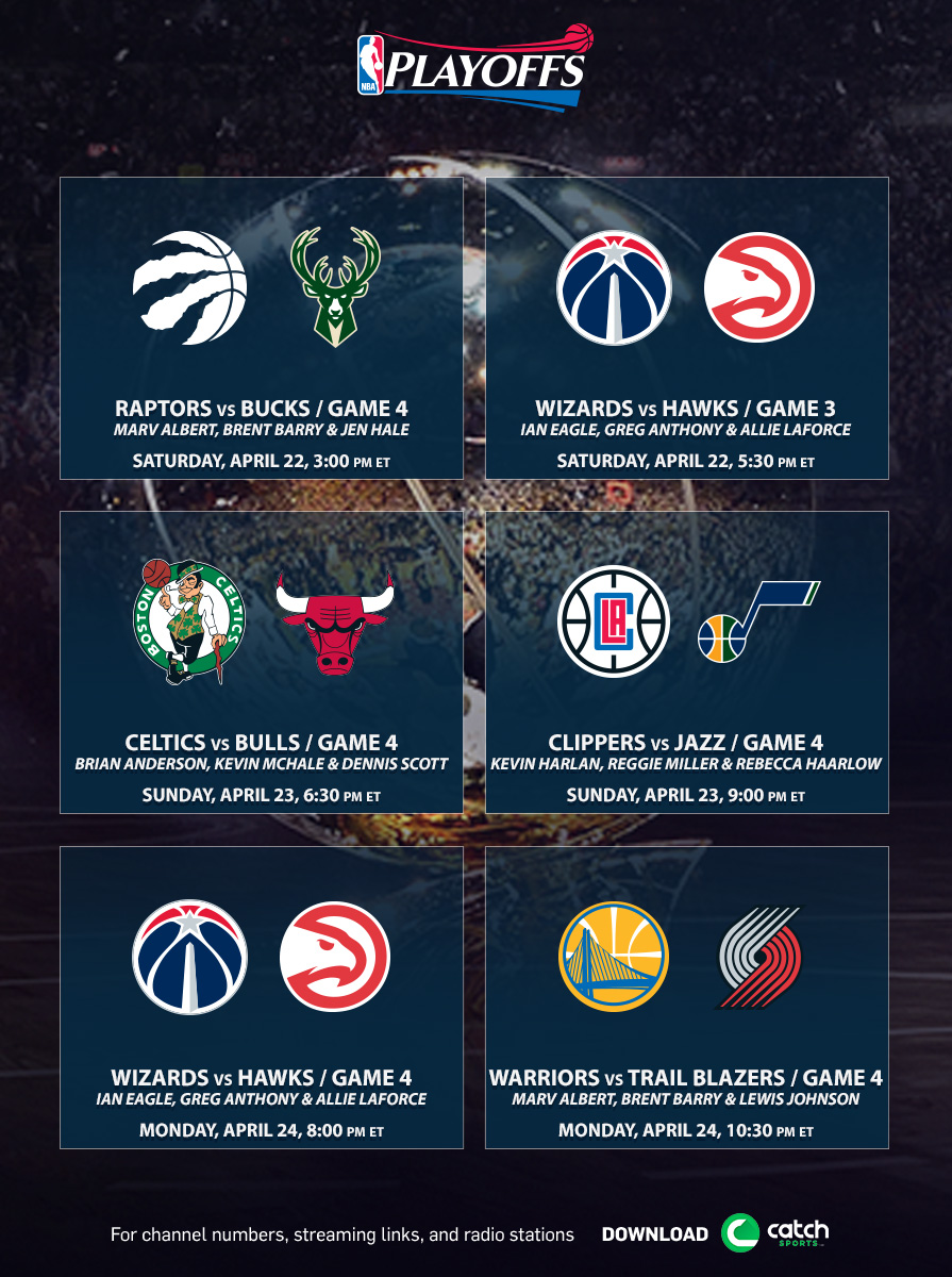 TNT's NBA Playoffs Coverage Continues Tomorrow, Saturday ...