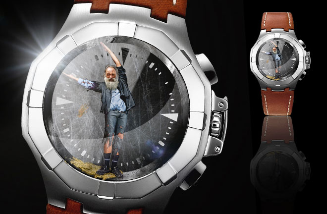 So, You're a Giant of Means? An Imprisoned Man Can Become Your Stylish Timepiece Today!