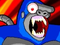 Bionic Chainsaw Pogo Gorilla - A Free Flash Online Game