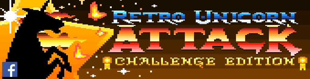 Retro Unicorn Attack Challenge Edition