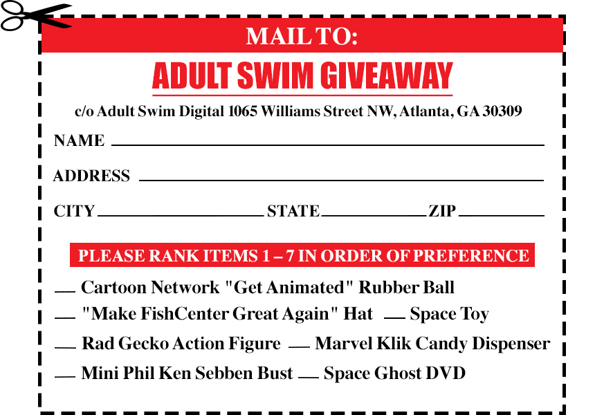 Adult Swim Coupon 11