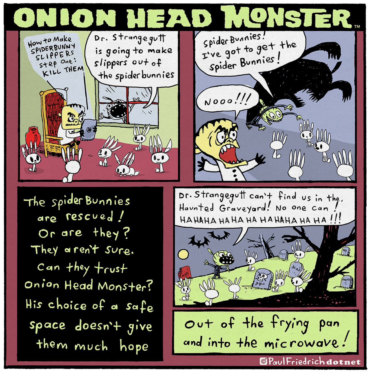 Onion Head Monster by paul-friedrich