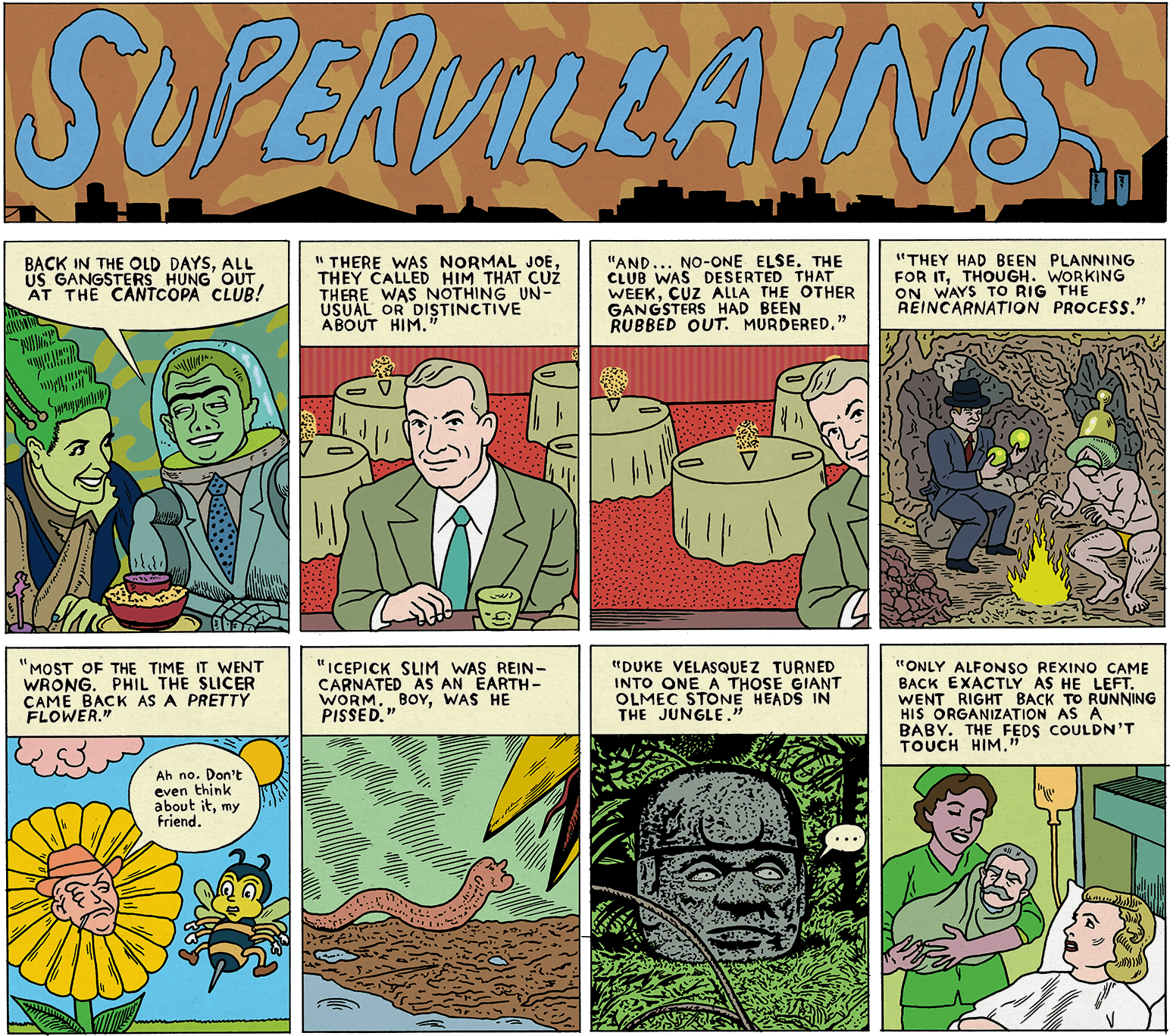 Supervillains by michael-kupperman
