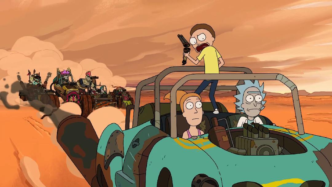 Rick and Morty - Design Sneak Peek: Wasteland