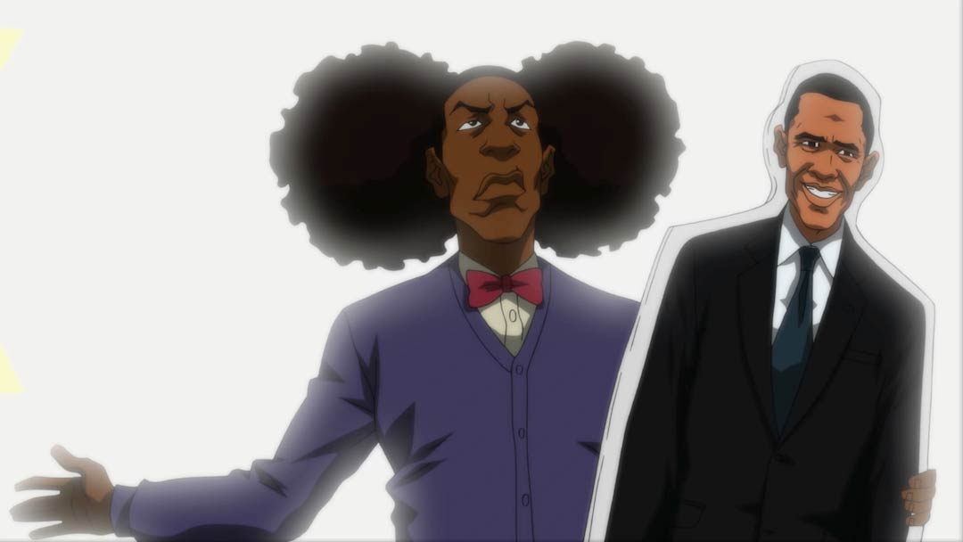 The Boondocks - Dick Riding Obama