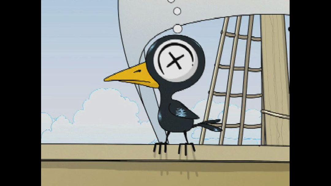 Adult Swim Drinky Crow 45