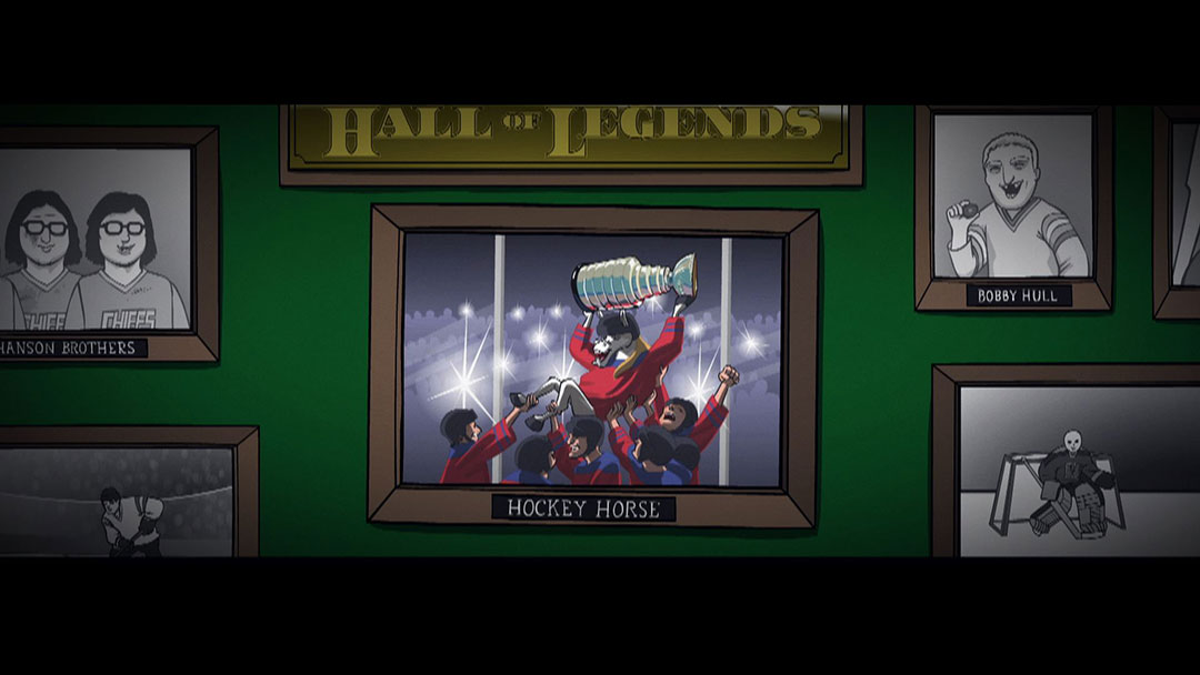 Robot Chicken - Hockey Horse - Stoopid Buddy Shortz