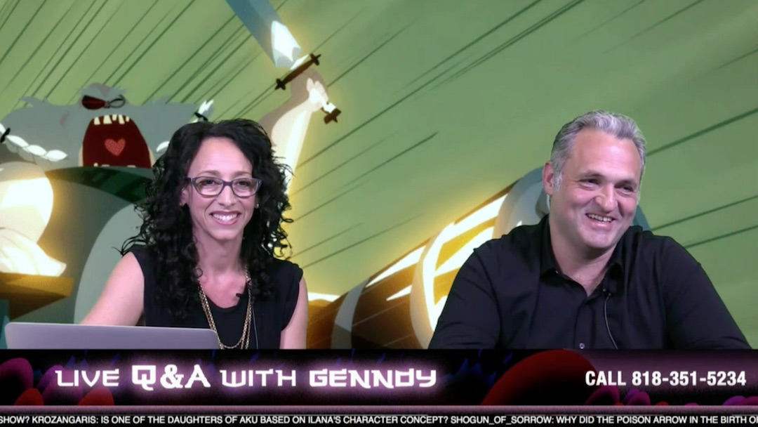 Samurai Jack - Live Q&A With Genndy Tartokovsky