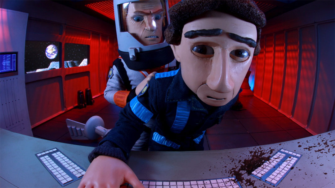 Robot Chicken - Moonbase Sidekick - Stoopid Buddy Shortz