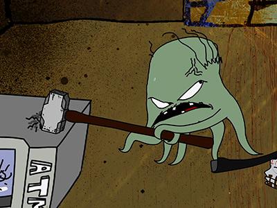 Watch Free Online Video Squidbillies - The ATM Bandit