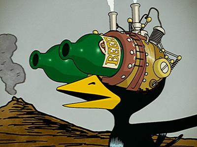 Adult Swim Drinky Crow 68