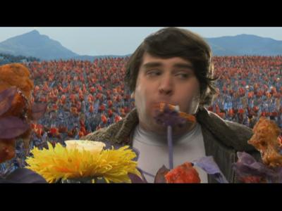 Watch Free Online Video Fat Guy Stuck In Internet - Buffalo Chicken Flowers!