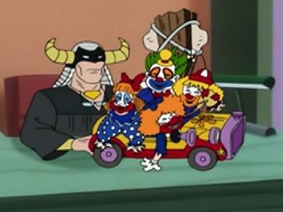 The Clown Car Timeline - Harvey Birdman, Attorney at Law