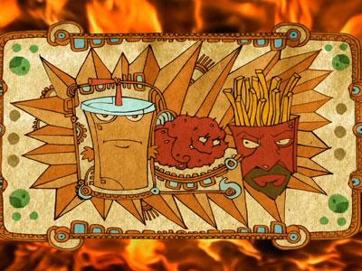 Watch Free Online Video Aqua Teen Hunger Force - Syndication Cash