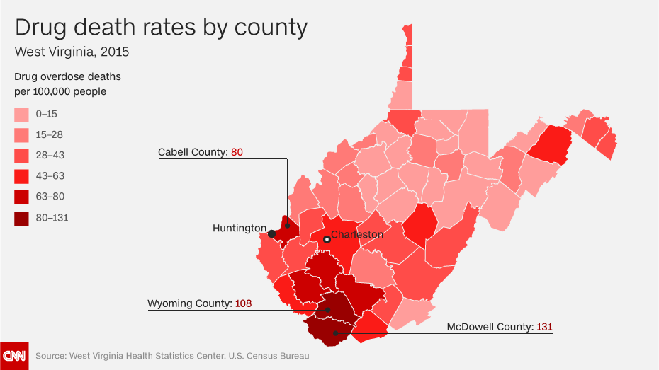 What's the most common cause of death in your county?