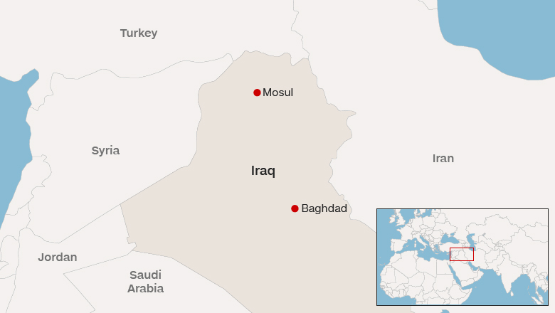 mosul offensive bogged