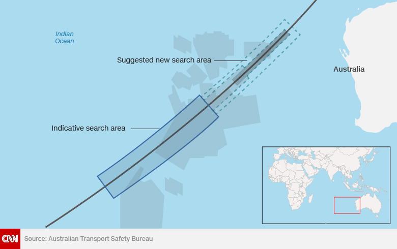Proposed MH370 search