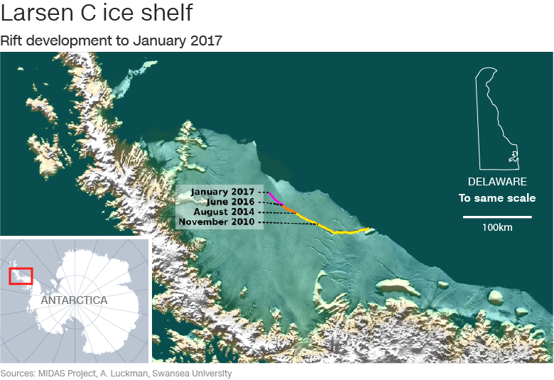 Iceberg-antártida