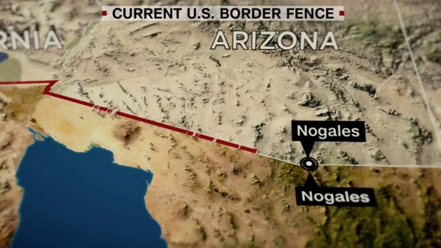 Trump Wants A Wall Border Experts Want A Fence CNNPolitics - Us border fence map