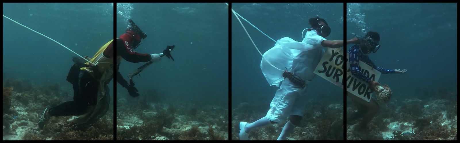 Art Basel 2017: Dive into this hypnotic underwater parade underwater cover 06