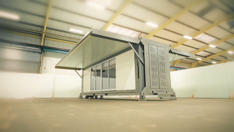The Portable Home That Builds Itself In Minutes Cnn Style