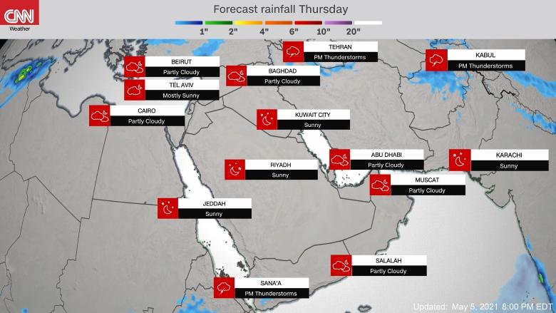 توقعات الامطار 2020-1433