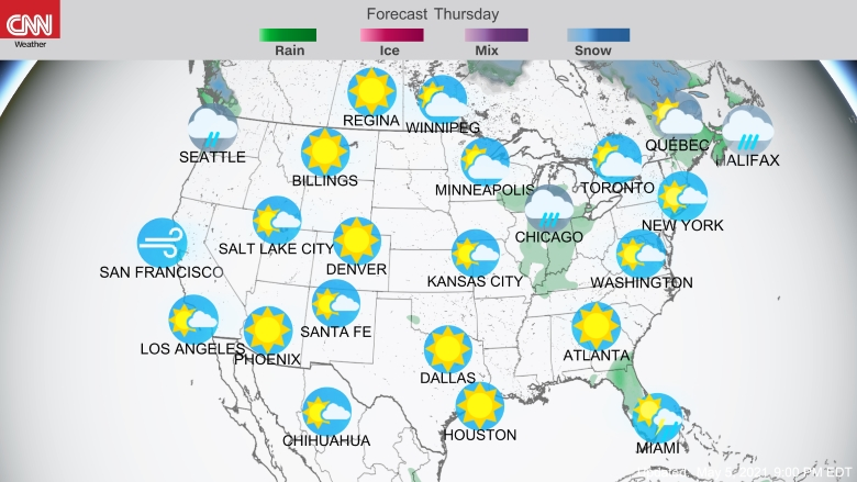 Breaking News Latest News and Videos CNN – Us Travel Weather Map