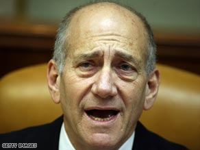 mail address for ehud olmert