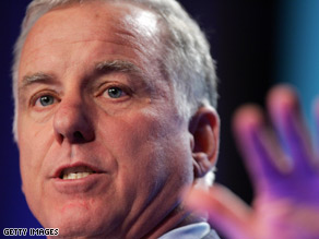 DNC Chairman Howard Dean targeted Sen. John McCain Sunday on CNN&#039;s Late Edition.