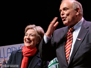 Rendell is a supporter of Clinton.