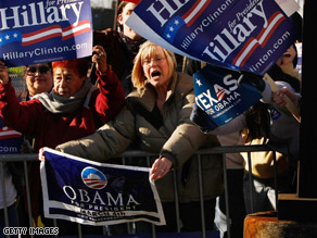Could Clinton and Obama appear on the same ticket? Clinton appears to be fueling the speculation.