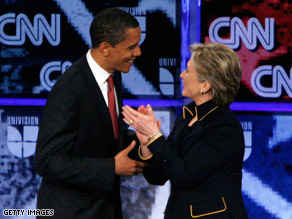 Clinton's campaign said Obama could be ready to be commander-in-chief by the summer.