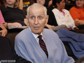 Kevorkian says he's running for Congress, according to the Associated Press.
