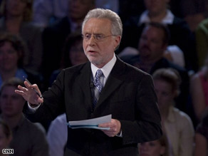 CNN's Wolf Blitzer will continue to anchor political coverage through the next election.
