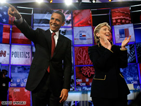 A new poll suggests both Clinton and Obama would tie McCain in a general election match up.