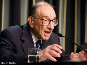  Greenspan said he is supporting McCain.