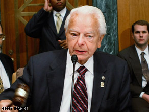 Sen. Robert Byrd is chairman of the Appropriations Committee.