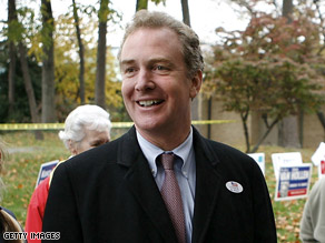 Van Hollen said Bush's policies were responsible for high gas prices.