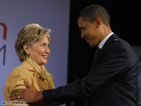 Clinton gaining on Obama in North Carolina according the the latest CNN poll of polls.