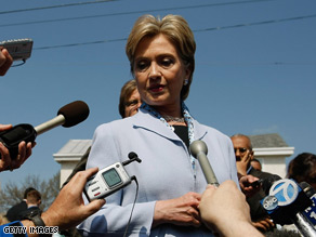Hillary Clinton sends a warning to Iran Tuesday.