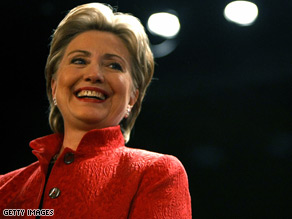 Hillary Clinton gets a boost from voters economic concerns Tuesday.