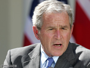 President Bush urged Congress to allow oil drilling Wednesday.