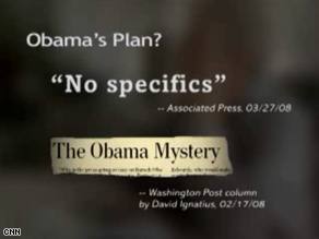 A new Indiana ad hits Obama on economic issues.