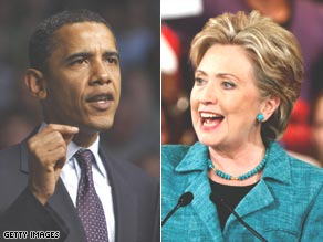 Barack Obama and Hillary Clinton are statistically tied in Gallup's national tracking poll.