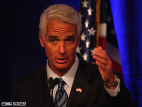 Florida Gov. Charlie Crist made an emergency landing Tuesday.