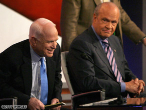 Fred Thompson joined John McCain on the campaign trail Tuesday.