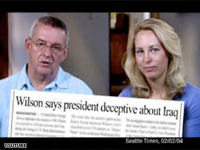 Ambassador Joe Wilson and wife, Valerie Plame, appear in new Clinton ad