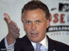 Clinton campaign chairman Terry McAuliffe