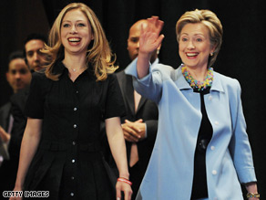 Chelsea Clinton has been campaigning for her mom in Puerto Rico since Tuesday.