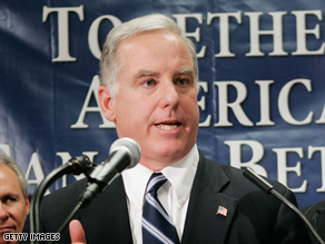 Howard Dean is the chairman of the Democratic National Committee.